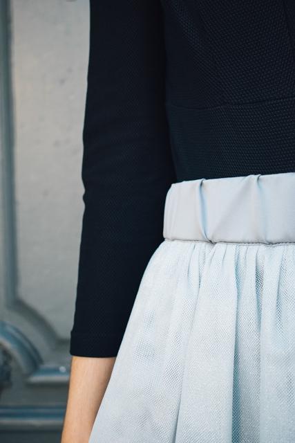curso falda de tul con volantes - Academia de costura online 14