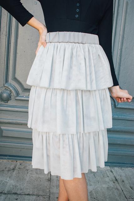 curso falda de tul con volantes - Academia de costura online 16