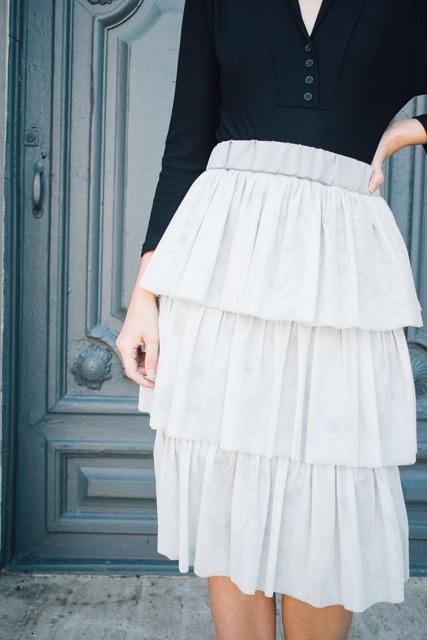 curso falda de tul con volantes - Academia de costura online 19