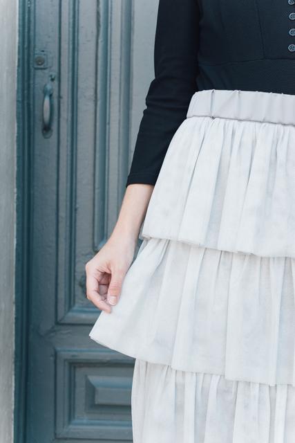 curso falda de tul con volantes - Academia de costura online 20