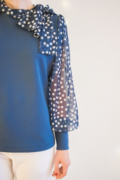 Camisa vintage - modelo B - curso de costura online