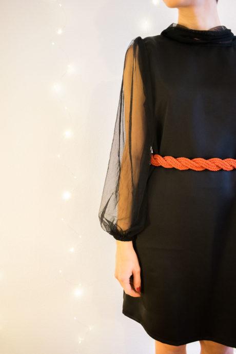 Camisa vintage - modelo vestido - curso de costura online