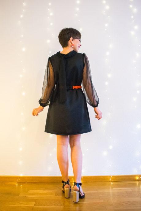 Camisa vintage - modelo vestido - curso de costura online paso a paso