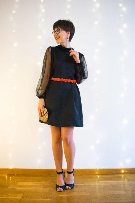 Camisa vintage - modelo vestido - curso de costura principiantes